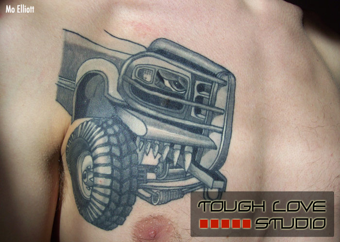 tough love studio custom tattooing fine art gallery